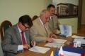 Podpisanie umowy na budowę budynku z firmą Dorbud S.A.